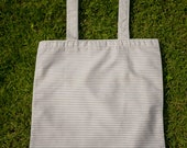 Cotton tote bag // Handmade // Shopper bag // Handbag // Unisex // Handcrafted by LeFouillisDeMarie