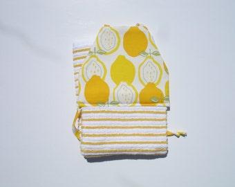 Hanging Kitchen Towel Yellow Hanging Tie Towel Lemon Kitchen Decor Fun Kitchen Towels