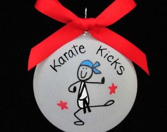 Karate Kid ornament,Karate custom personalized ornament,Karate christmas ornament,karate ornament,karate kid,gift for karate,karate kid