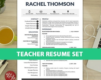 resume template teacher free cover letter references letter 1 2 - Teacher Aide Resume