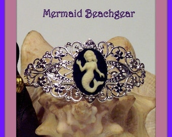 Mermaid Cameo Bracelet