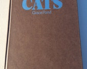 Rand McNally Pictorial Encyclopedia of Cats by Grace Pond ** vintage 1980 full-color guide to felines ** crazy cat ladies UNITE