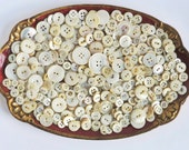 Antique Mother of Pearl Buttons Vintage Sewing Buttons