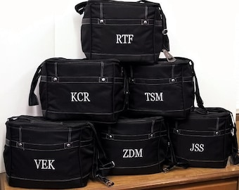 Set of 10 Personalized Coolers Groomsmen Gifts Wedding Gifts Monogram Coolers