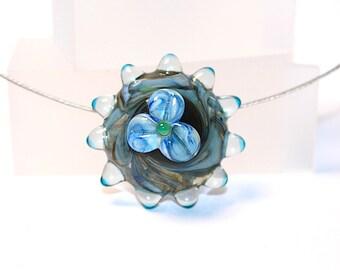 WAVE FLOWER RingTop - Pendant