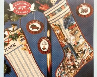 Holiday Study Heirloom Stockings