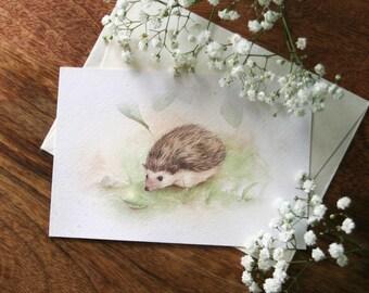 Print Hedgehog
