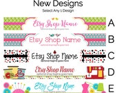 Etsy Shop Banners - Etsy Banners - Etsy Branding Graphics - Etsy Store Graphics - New Etsy Shop Banner Designs Selection 3