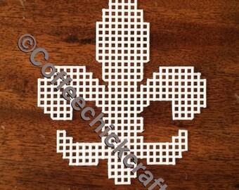 Flur De Lis Plastic Canvas Shapes   Plastic Canvas Flur De Lis Needlepoint