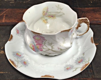 Teacup Candle - Custom Scent and Color - Limoges - The Bea