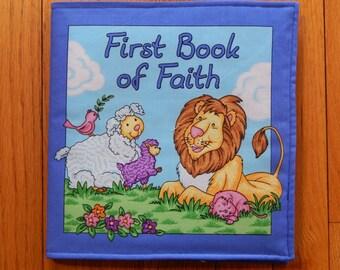 Chidren's Cloth Book/First Book of Faith Cloth Book/Children's Fabric Book