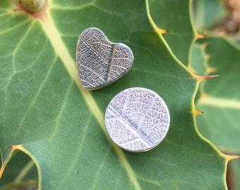 Heart & Circle Mismatch earrings