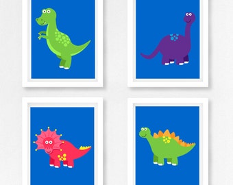 Dinosaur Nursery Art, Dinosaur Wall Art, Dinosaur Print, Boys Bedroom  Decor, Boys Part 17