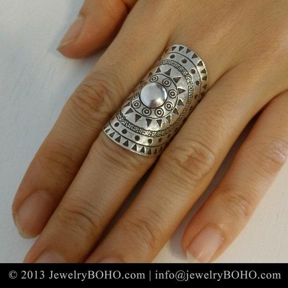BOHO Gypsy ring Hippie ring Bohemian style by jewelryboho4u