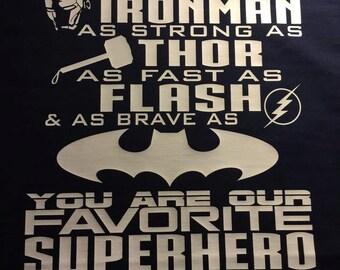 Superhero Shirt