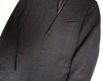 Canali mens fashion luxury sportscoat Proposta blazer 3btn brown twill 48R U.S.