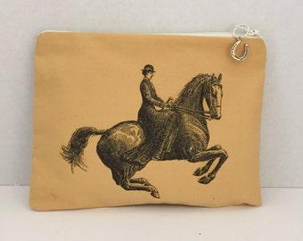 Side Saddle Lady Zippered Bag
