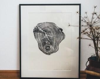 Woodprint Robinie #2 / Robinia #2