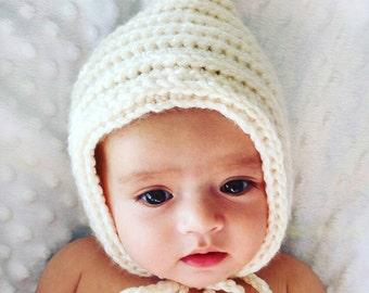 Newborn Baby Hats , Toddler Hats , Baby Winter Hats , Baby Bonnets , Crochet Hats For Girls