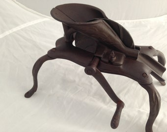 Primitive Cast Iron Spider Leg Cherry Pitter