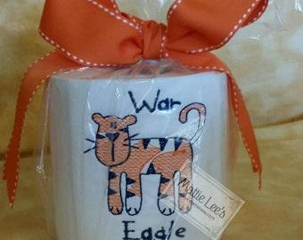 Monogrammed AUBURN War Eagle Toilet Paper