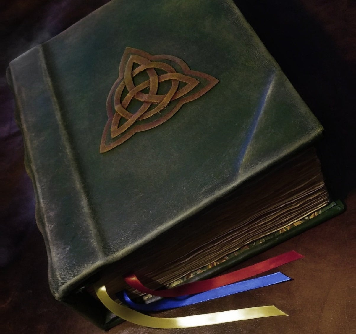 Fully Printed Charmed Inspired Book Of Shadows Replica 500 Aged Pages Free  Us Shipping