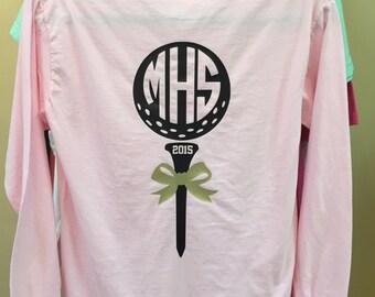 Golf Shirt with Monogram