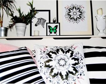 Pandamonium Cushion