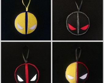 Deadpool Ornament (4 pcs)