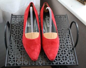 Vintage* Pump (suede) Shoes Back to school*
