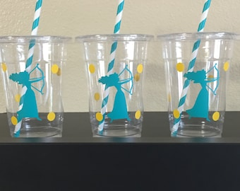 Brave Party Cups, Merida party cups