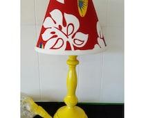 Hawaiian Lamp Base and Shade