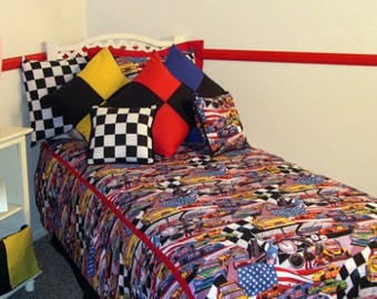 Nascar Twin 7 Piece Bedding Set