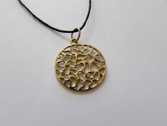 Circle Filigree Pendant - Adjustable Necklace Tribal Jewellery Boho Jewelry necklace Festival Jewellery Free UK delivery