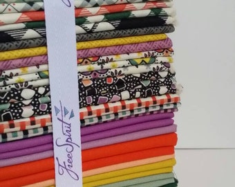 Eastham Fat Quarter Bundle by Denyse Schmidt for Free Spirit Fabrics