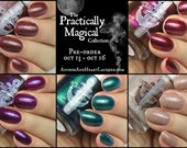 PREORDER ~ Practically Magical full collection ~ Five (5) 15mL Bottles