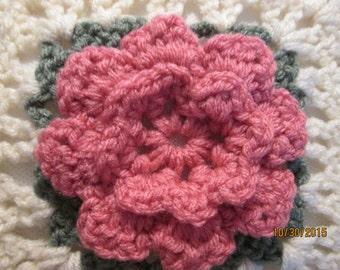 Pillow/Rose pillow/decorative pillow