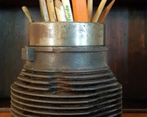 Corvair Cylinder Jugs,Man Cave Pencil Holder,Industrial Decor.
