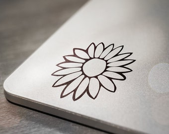 Flower Laptop Decal Sticker