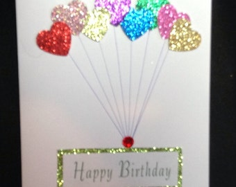 Handmade 3D Birthday card with envelope
