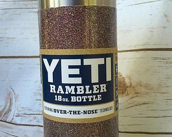 YETI Rambler Bottles / Ombré Glitter Yeti / Glitter Ombré Yeti / Ombré Yeti Tumbler / Ombré Yeti Rambler/ Ombré Yeti /  Glittered Yeti