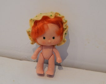 Vintage Strawberry Shortcake Apple Dumplin Doll Kenner 1980s Doll A