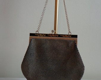 Gorgeous Black and Gold Evening Bag.
