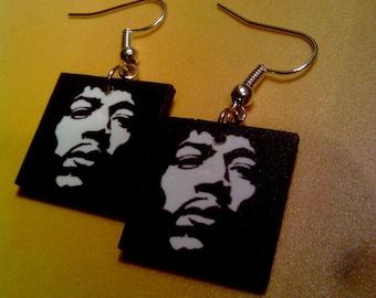 Jimi Hendrix Earrings