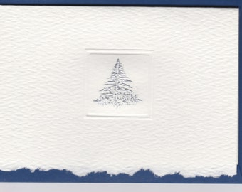 Engraved Frost Flake Holiday Gift Emclosure