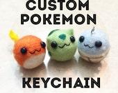 Custom Pokemon Keychain