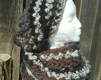 Squish Slouch Hat and Scarf Set