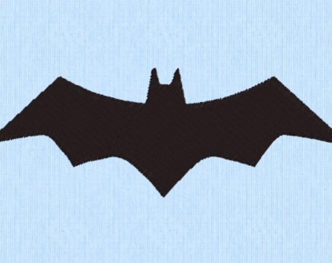 Batman Bat Embroidery Design