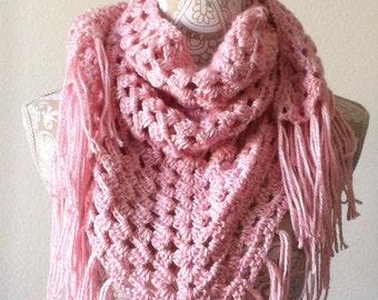 Woman's Scarf / Shawl, Crocheted
