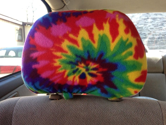 Tie Dye Truck Seat Covers - Velcromag